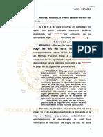 Juicio Ordinario Mercantil. 48-2012. Juzgado, 1ero, Distrito, Yucatán. PRIMERA INSTANCIA.