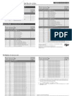 VT-12 Track List