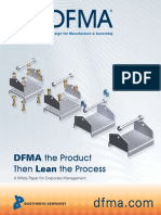 DFMA the Product Then Lean the Process