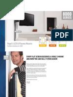 Vogel's 8000 Series Dealer Brochure 2009