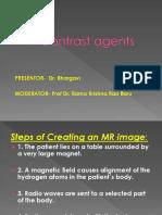 Mri Contrastmedia by Dr. Bhargavi