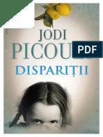 Jodi Picoult - Disparitii (v.1.0)