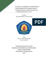 Laporan PKL PNK Jurusan Teknik Sipil Bangunan Air Tinjauan Pelaksanaan Pekerjaan Tubuh Embung