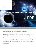Estimating Risk and Return on Asset