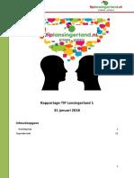 Rapportage TIP Lansingerland / hondenpoep