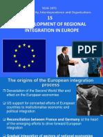 Development of European Integration
