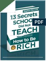 13Secrets Business Book