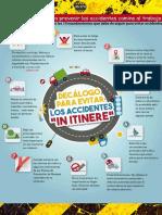10 Reglas Basicas Para Prevenir Accidentes in Itinere