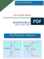 Week 12 Reflector Antennas
