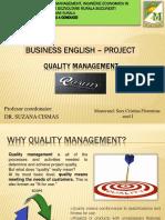 Prezentare Ppt. Engleza de Afaceri