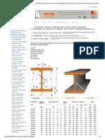 HEA (IPBL) Beams, European Standard Wide Flange H Beams, Dimensions, Specifications