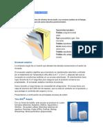 Numero de Pliegues y Tipos de Material