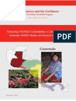 Reducing HIV-AIDS Vulnerability in Central America.