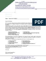 IPT Letter