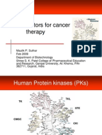 Kinase Inhibitors for Cancers