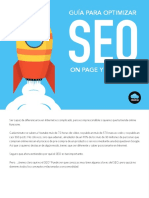 GUÍA PARA OPTIMIZAR SEO ON PAGE Y OFF PAGE