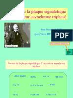 Lecture Plaque Signaletique
