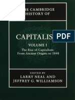 The Cambridge History of Capitalism Volume 1