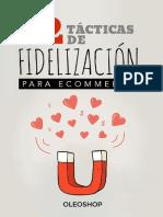 Ebook gratis. 12 tácticas de fidelización para eCommerce