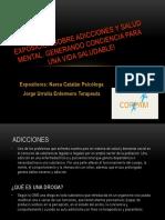 Exposición Sobre Salud Mental Mop