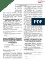 Aprueban Reglamento de Organización y Funciones el Manual de Organización y Funciones y el Cuadro para Asignación de Personal de la Municipalidad