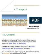 WR Lecture Notes 5 Water Resource Sediment Transport