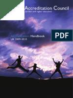 BAC Handbook 0910