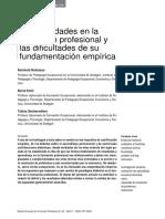 Novedades Formacion Profesional Dificultades Fundamentacion Empirica