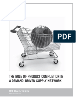 The Role of Product Completion in Demand Review Supply Network