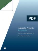 Australia Awards Indonesia Aquaculture Benchmarking Application Pack 180209 (002)