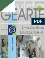 Revista Artes Visuais