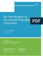 Cushing-An Introduction to Structured Population Dynamics