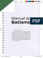 Manual do Batismo da Igreja Pentecostal Deus é Amor