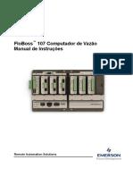 Floboss 107 Flow Manager Instruction Manual Portuguese Pt 133146