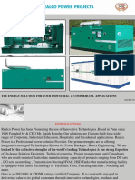 Acoustic Insulation Dg Generator Canopy Hsd Tank