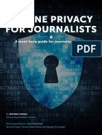 Online Privacy Guide for Journalists (Michael Dagan, VPN Mentor 2017)