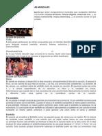 Clasificacion de Las Obras Musicales