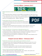 Punjab Current Affairs 2017