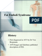 Fat Emboli Syndrome
