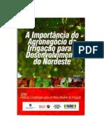 A Importância Do Agronegócio Da Irrigação Para o Desenvolvimento Do Nordeste Do Brasil, volume 1.
