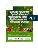 General Model for Optimization and Promotion of Irrigation Agribusiness in the Northeast of Brazil, volume 3.