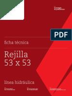 FT Rejilla 53x53