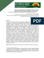 Organização Curricular Por Áreas Do Conhecimento e Atuação Docente Interdisciplinar