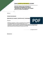 Declaración Jurada - PTAR