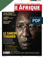 Tchad - Couverture Jeune Afrique (n°2457)