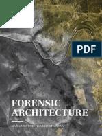 Forensic Architecture. Hacia Una Estn Tica Investigativa.2
