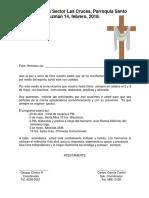 Iglesia Católica Sector Las Cruces