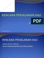 1. Rencana Perjalanan HAJI 2016.ppt