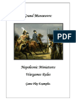 Grand Manoeuvre Game Play Examples