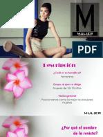 Diseño Final de la Revista Mulier